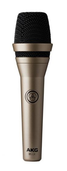 AKG D5 LX Professional Dynamic Vocal Microphone - 3138X00360, D5LX