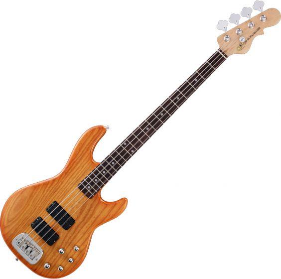 G&L Tribute M-2000 Electric Bass Honeyburst, TI-M20-116R38R00