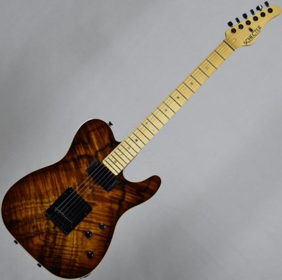 Schecter PT Koa Top Vintage Burst USA Custom Shop Electric Guitar, USAPTKVB