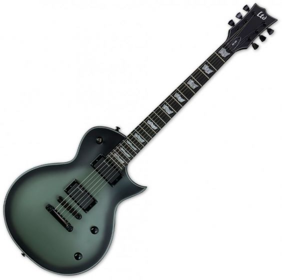 ESP LTD Bill Kelliher BK-600 Electric Guitar in Military Green Burst Satin, LBK600MGSBS