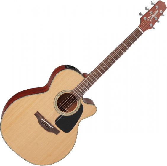 Takamine P1NC NEX Acoustic Electric Guitar Satin, TAKP1NCBLK