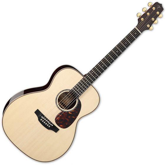 Takamine EF7M-LS OM Body Acoustic Guitar Natural, TAKEF7MLS