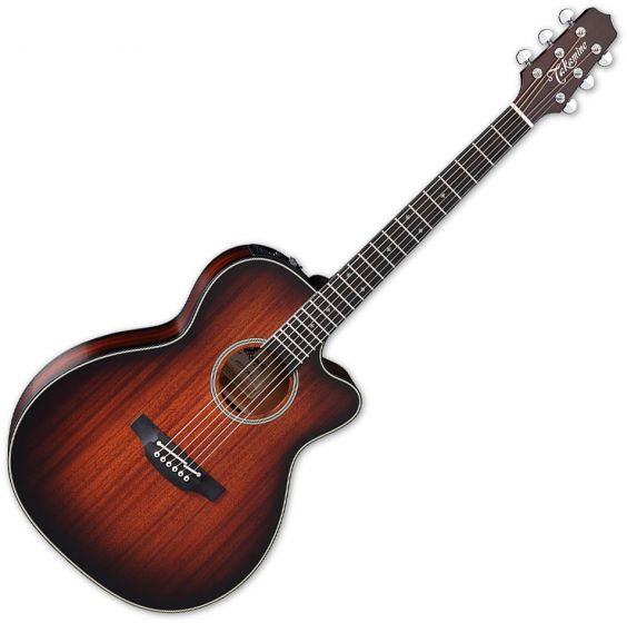 Takamine CP771MC SB OM Cutaway Acoustic Guitar Shadow Burst Satin B-Stock, TAKCP771MCSB.B