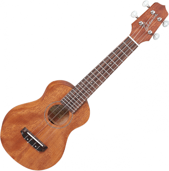 Takamine GUS1 Soprano Acoustic Ukulele Natural, TAKEGUS1