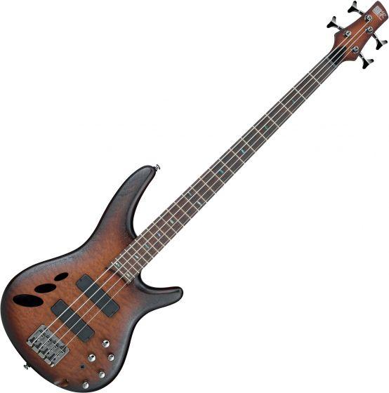 Ibanez SR Standard SR30TH4 Semi-Hollow Electric Bass Natural Browned Burst Flat, SR30TH4NNF