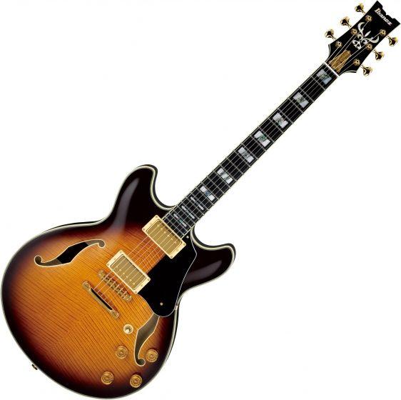 Ibanez Signature John Scofield JSM100 Hollow Body Electric Guitar Vintage Sunburst, JSM100VT