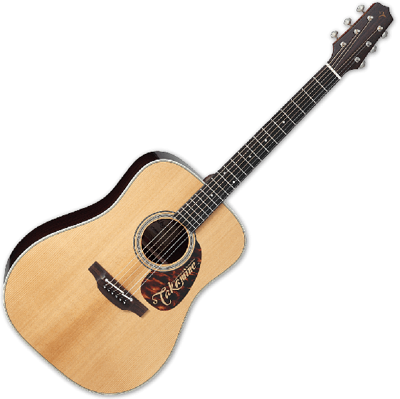 Takamine EF360STT Thermal Top Acoustic Guitar in Natural Finish, TAKEF360STT