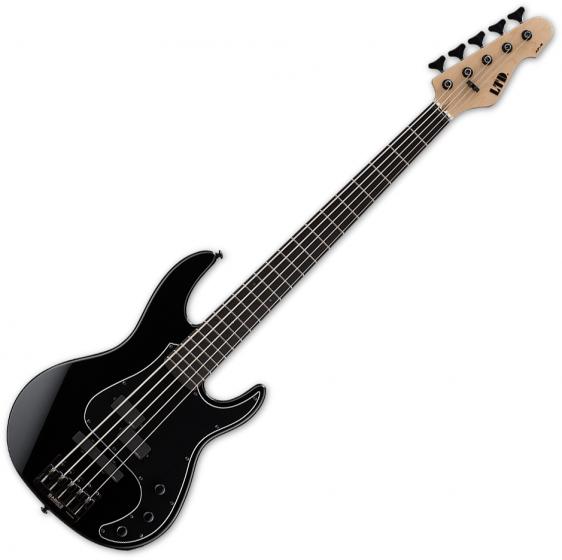 ESP LTD AP-5 5-String Electric Bass Black[, LAP5BLK]
