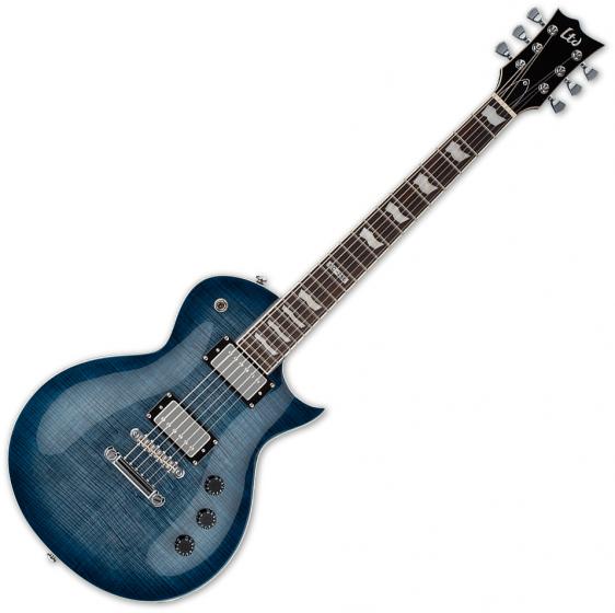 ESP LTD EC-256FM Flamed Maple Top Electric Guitar Cobalt Blue[, LEC256CB]