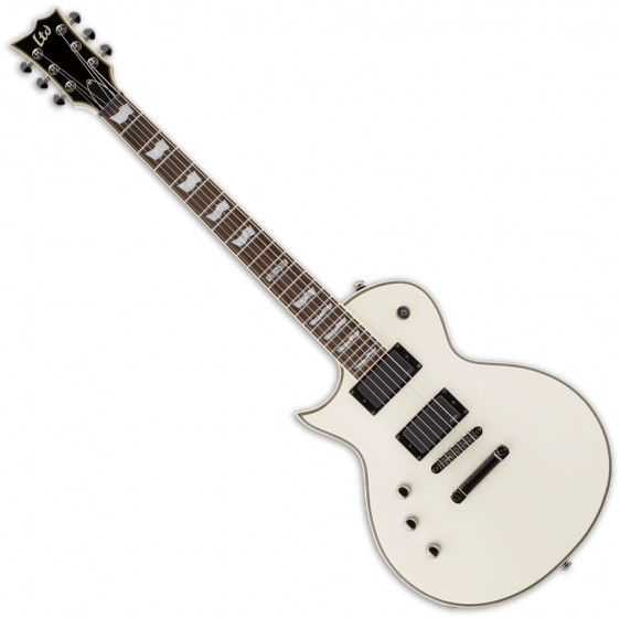 ESP LTD EC-401 Left-Handed Electric Guitar Olympic White, LEC401OWLH