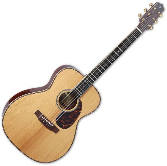 Takamine EF75M TT OM Body Acoustic Guitar Natural[, TAKEF75MTT]