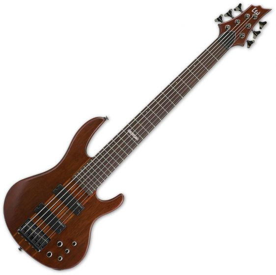 ESP LTD D-6 Bass in Natural Stain B-Stock, LD6NS.B