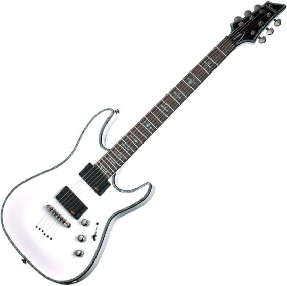 Schecter Hellraiser C-1 Electric Guitar Gloss White, 1808