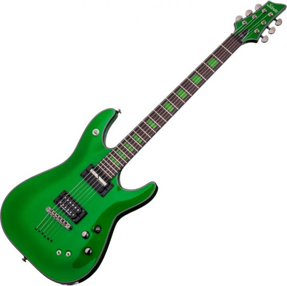 Schecter Signature Kenny Hickey Electric Guitar in Steele Green Finish, 221