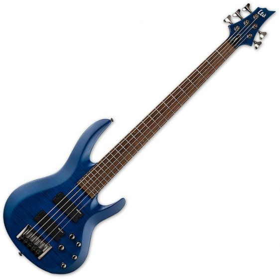 ESP LTD B-205FM Electric Bass See Thru Blue B Stock[, LB205FMSTB]