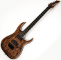 Ibanez RGAIX6U-ABS RG Iron Label Series Electric Guitar in Antique Brown Stained, RGAIX6UABS