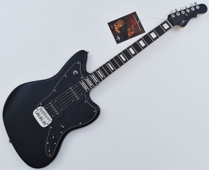 G&L USA Doheny Electric Guitar in Jet Black Satin Frost with Case. Brand New!, USA DOHENY CLF1709072