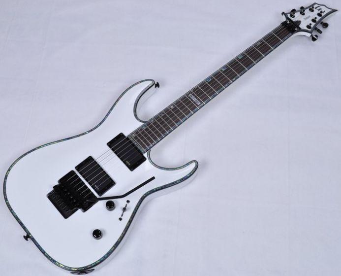 ESP LTD Deluxe H-1001FR Electric Guitar in Snow White, H-1001FR SW