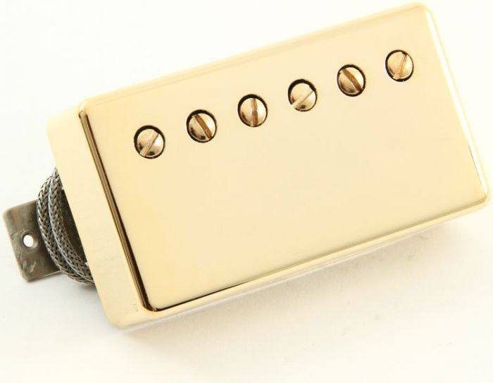 Seymour Duncan Humbucker SH-1B 4-Conductor Bridge Gold Cover, 11101-05-Gc4C