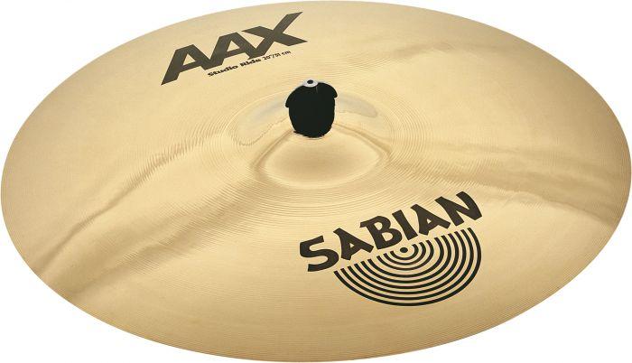 """Sabian 20"""" AAX Studio Ride Brilliant Finish, 22010XB"""