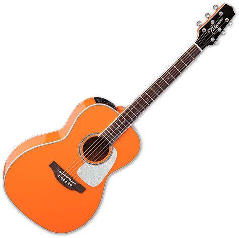 Takamine CP3NY OR New Yorker Acoustic Electric Guitar Gloss Orange, TAKCP3NYOR