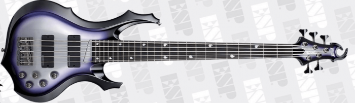 ESP E-II Doris Yeh DY5 SSB Signature Bass Guitar, ESP E-II Doris Yeh DY5 SSB