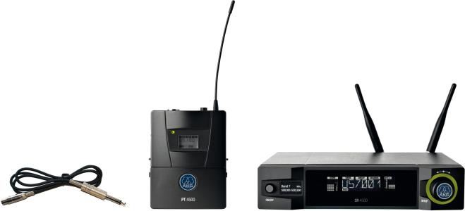 AKG WMS4500 Instrumental Set BD7 Reference Wireless Microphone System[, WMS4500 Instrumental Set BD7]