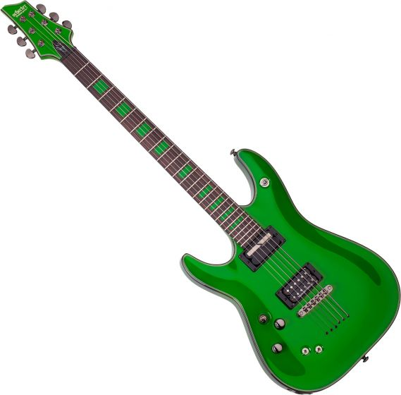 Schecter Signature Kenny Hickey C-1 EX S Left-Handed Electric Guitar in Steele Green Finish, 229