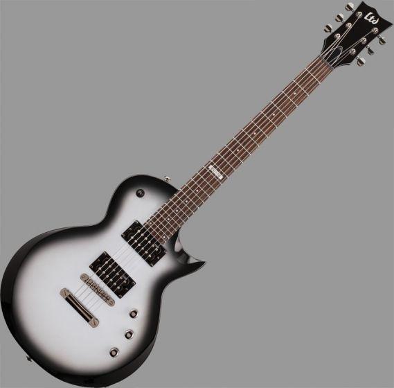 ESP LTD EC-50 Left Handed Guitar in Silver Sunburst Finish, EC-50-SSB LH