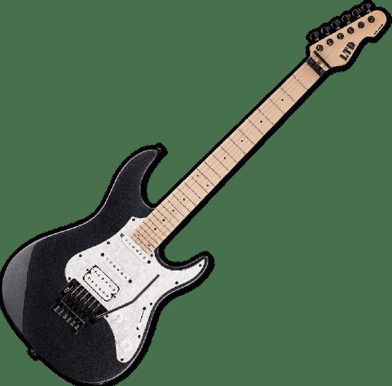 ESP LTD SN-200FR Electric Guitar in Charcoal Metallic, LSN200FRMCHM