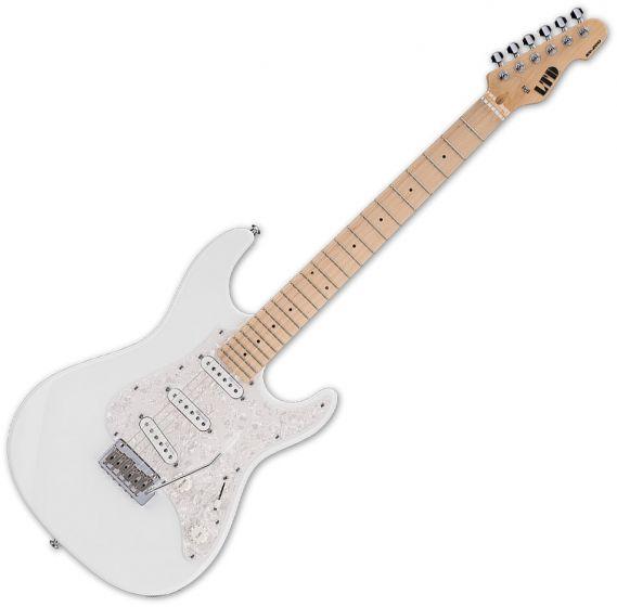 ESP LTD SN-200W Electric Guitar Snow White, LSN200WMSW