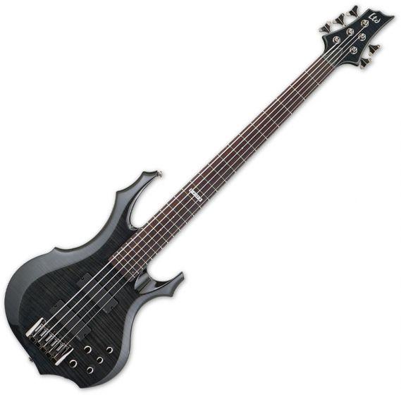 ESP LTD F-415FM Electric Bass See-Through Black B-Stock[, LF415FMSTBLK.B]