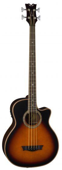 Dean Exotica Supreme Cutaway Acoustic/Electric Bass TSB EABCS TSB, EABCS TSB