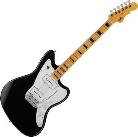 G&L Tribute Doheny Guitar Jet Black, TI-DOH-113R01M13