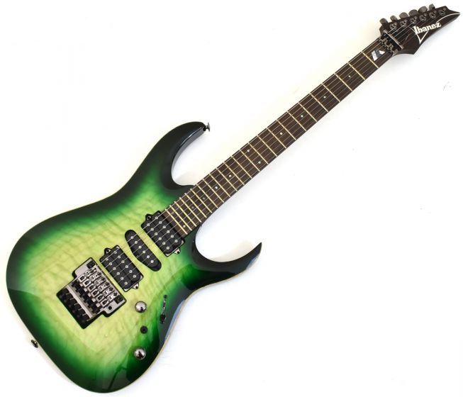 Ibanez Kiko Loureiro Signature w/Case Green Mist Burst KIKO200 GMT Electric Guitar, KIKO200GMT