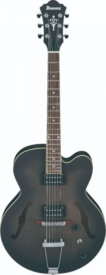 Ibanez AF55 TKF AF Artcore 6 String Transparent Black Flat Hollow Body Electric Guitar[, AF55TKF]