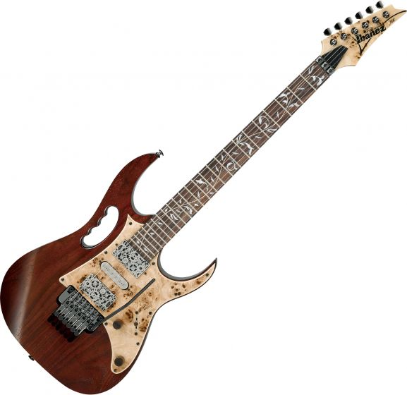 Ibanez Steve Vai Signature JEM77WDP Electric Guitar Charcoal Brown Low Gloss, JEM77WDPCNL