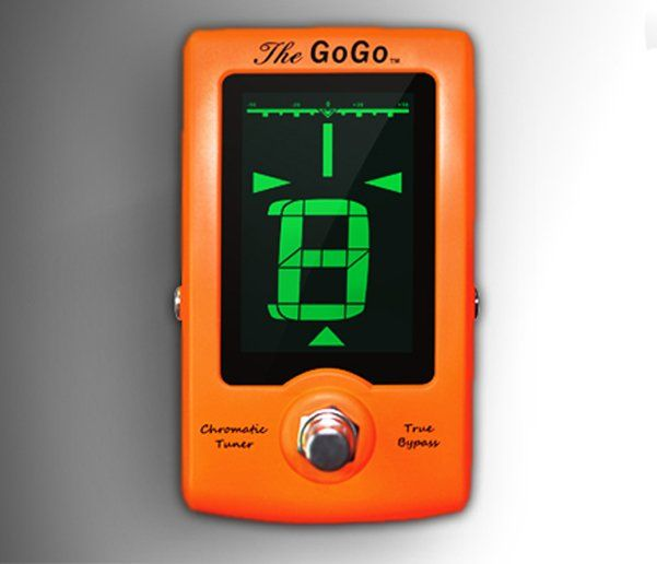 GoGo Chromatic True Bypass Pedal Tuner, GoGo Pedal tuner