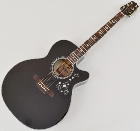 Takamine GN75CE NEX Acoustic Electric Guitar Transparent Black B Stock[, TAKGN75CETBK]