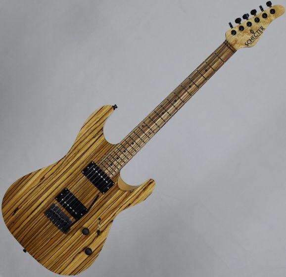 Schecter Masterworks Sunset Custom-II Zebrawood Electric Guitar Gloss Natural, MWSSC2 1207