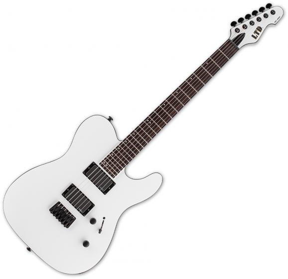 ESP LTD TE-401 Electric Guitar Snow White Satin, LTE401SWS