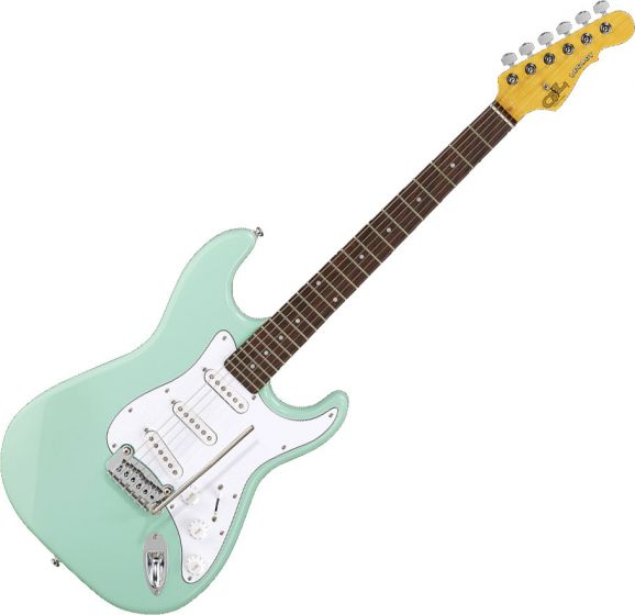 G&L Tribute Legacy Electric Guitar Surf Green, TI-LGY-111R51R13