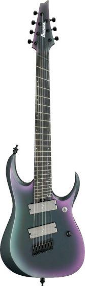 Ibanez RGD71ALMS BAM RGD Axion Label Multi Scale 7 String Black Aurora Burst Matte Electric Guitar, RGD71ALMSBAM