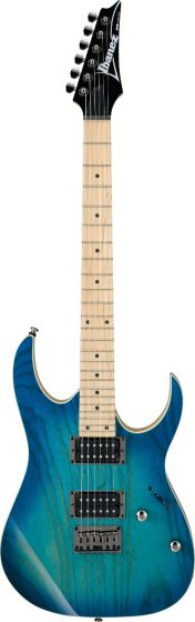 Ibanez RG Standard Blue Moon Burst RG421AHM BMT Electric Guitar, RG421AHMBMT