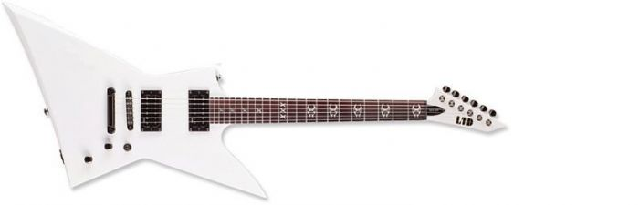 ESP LTD Max Cavalera MAX-200 in Snow White, LTD MAX-200 SW