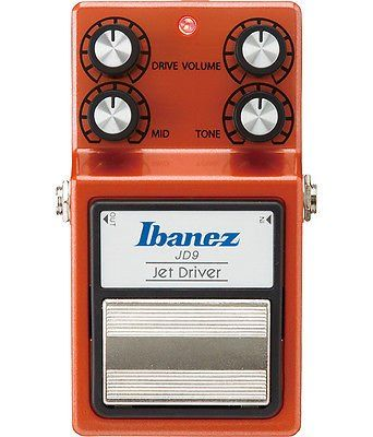 Ibanez JD9 Jet Driver Overdrive Pedal, JD9