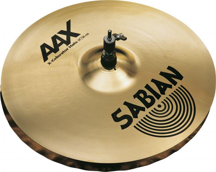 """Sabian 14"""" AAX X-Celerator Hats, 21402XL"""