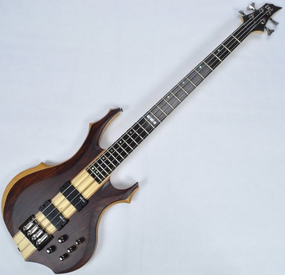 ESP LTD F-4E Bass in Natural Stain B-Stock, F-4E NS