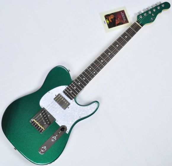 G&L ASAT Classic Bluesboy USA 35th Anniversary Guitar in Emerald, USA ASTCB-EMGRN-RW 3283