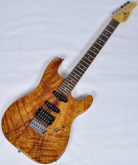 Schecter USA California Custom Elite Koa Top Electric Guitar, USACCEKNATSH